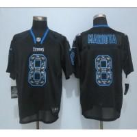 Nike Titans #8 Marcus Mariota New Lights Out Black Men's Stitched NFL Elite Jersey