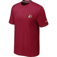 Nike Washington Redskins Chest Embroidered Logo T-Shirt Red