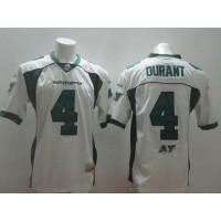 Saskatchewan Roughriders #4 Darian Durant White Stitched CFL Jersey