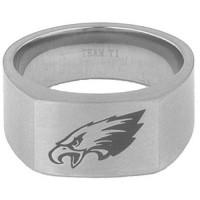 Team Titanium Philadelphia Eagles Signet Ring