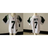 Toddler Nike Jets #7 Geno Smith White Stitched NFL Elite Jersey
