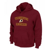 Washington Redskins Heart & Soul Pullover Hoodie Red