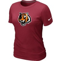Women's Cincinnati Bengals Team Logo T-Shirt Red