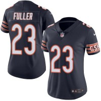 Women's Nike Chicago Bears #23 Kyle Fuller Navy Blue Stitched NFL Limited Rush Jersey