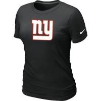 Women's Nike New York Giants Logo NFL T-Shirt Black