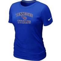 Women's Nike Tennessee Titans Heart & Soul NFL T-Shirt Blue