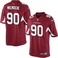 Youth Nike Arizona Cardinals #90 Robert Nkemdiche Elite Red Team Color NFL Jersey