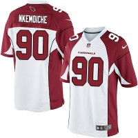 Youth Nike Arizona Cardinals #90 Robert Nkemdiche Elite White NFL Jersey