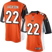 Youth Nike Cincinnati Bengals #22 William Jackson Limited Orange Alternate NFL Jersey