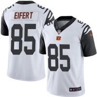 Youth Nike Cincinnati Bengals #85 Tyler Eifert White Stitched NFL Limited Rush Jersey