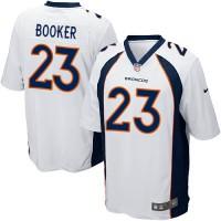 Youth Nike Denver Broncos #23 Devontae Booker White Stitched NFL New Elite Jersey