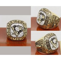 1991 NHL Championship Rings Pittsburgh Penguins Stanley Cup Ring