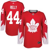 Toronto Maple Leafs #44 Morgan Rielly Red Alternate Stitched NHL Jersey