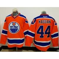 Edmonton Oilers #44 Zack Kassian Orange Alternate Stitched NHL Jersey