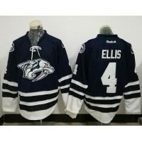 Nashville Predators #4 Ryan Ellis Blue Third Stitched NHL Jersey