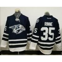 Nashville Predators #35 Pekka Rinne Blue Third Stitched NHL Jersey