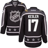 Anaheim Ducks #17 Ryan Kesler Black 2017 All-Star Pacific Division Stitched NHL Jersey
