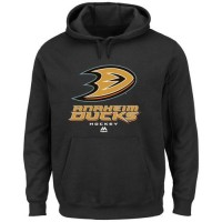 Anaheim Ducks Majestic Big & Tall Critical Victory Pullover Hoodie Black