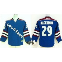 Avalanche #29 Nathan MacKinnon Blue Stitched Youth NHL Jersey
