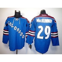 Avalanche #29 Nathan MacKinnon Blue Third Stitched NHL Jersey