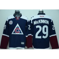 Avalanche #29 Nathan MacKinnon Navy Blue Alternate Stitched NHL Jersey