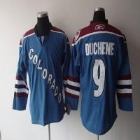 Avalanche #9 Matt Duchene Stitched Blue Third NHL Jersey