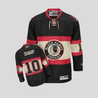 Blackhawks #10 Patrick Sharp Stitched Black Youth New Third NHL Jersey