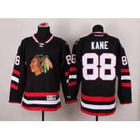Blackhawks #88 Patrick Kane Black 2014 Stadium Series Stitched NHL Jersey