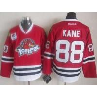 Blackhawks #88 Patrick Kane Red Ice Hogs Stitched NHL Jersey