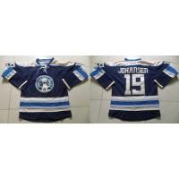 Blue Jackets #19 Ryan Johansen Navy Blue Alternate Stitched NHL Jersey