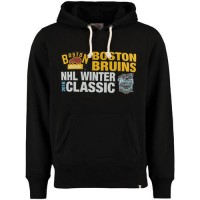 Boston Bruins 2016 Winter Classics Crosstown Striker Pullover Sweatshirt Black