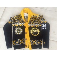 Boston Bruins #24 Black Men's NHL Ugly Sweater