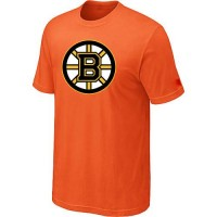Boston Bruins Big & Tall Logo Orange NHL T-Shirts