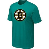 Boston Bruins Big & Tall Logo Teal Green NHL T-Shirts