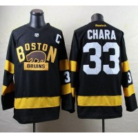 Bruins #33 Zdeno Chara Black 2016 Winter Classic Stitched NHL Jersey