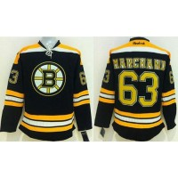 Bruins #63 Brad Marchand Black Stitched NHL Jersey