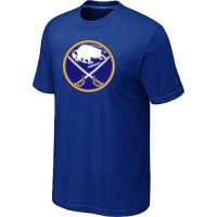 Buffalo Sabres Big & Tall Logo Blue NHL T-Shirts
