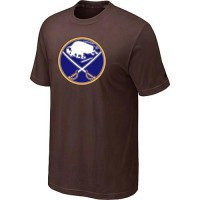 Buffalo Sabres Big & Tall Logo Brown NHL T-Shirts