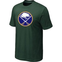 Buffalo Sabres Big & Tall Logo Dark Green NHL T-Shirts