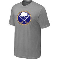 Buffalo Sabres Big & Tall Logo Grey NHL T-Shirts