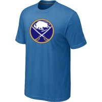 Buffalo Sabres Big & Tall Logo Indigo Blue NHL T-Shirts