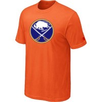 Buffalo Sabres Big & Tall Logo Orange NHL T-Shirts
