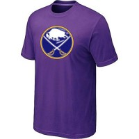 Buffalo Sabres Big & Tall Logo Purple NHL T-Shirts