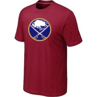 Buffalo Sabres Big & Tall Logo Red NHL T-Shirts
