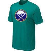 Buffalo Sabres Big & Tall Logo Teal Green NHL T-Shirts
