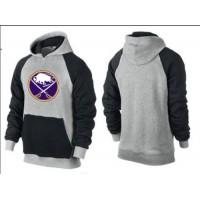 Buffalo Sabres Pullover Hoodie Grey & Black