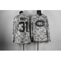 Canadiens #31 Carey Price Camo Stitched NHL Jersey