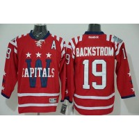Capitals #19 Nicklas Backstrom 2015 Winter Classic Red Stitched NHL Jersey