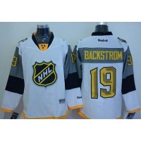 Capitals #19 Nicklas Backstrom White 2016 All Star Stitched NHL Jersey