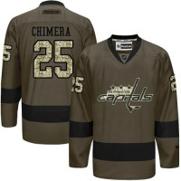 Capitals #25 Jason Chimera Green Salute to Service Stitched NHL Jersey